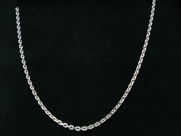 Řetízek 55cm - stříbro Řetízek očkový 12g