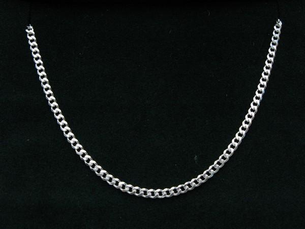 Řetízek 60cm - stříbro Řetízek pancer 12g