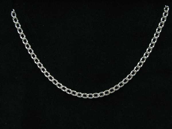 Řetízek 45cm - stříbro Řetízek pancer ozdobný 15g