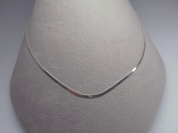 Řetízek 40cm - stříbro Řetízek 40cm plochý