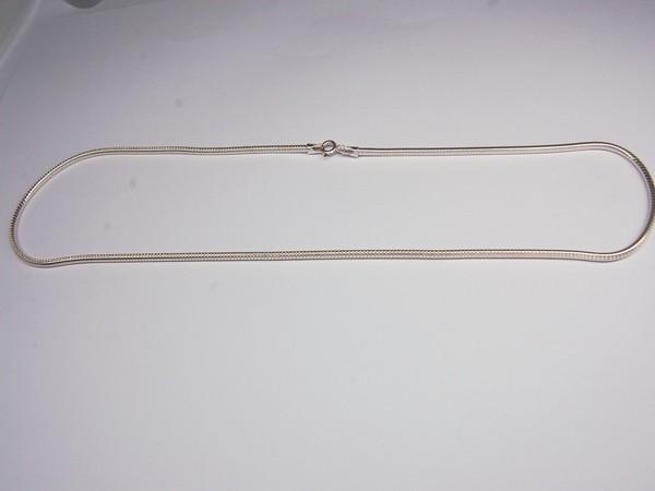 Řetízek kulatý 50cm - stříbro Řetízek kulatý 50cm 22g