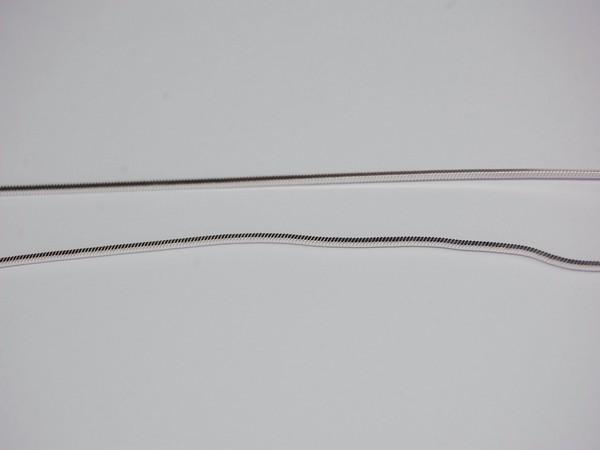 Řetízek 40cm čtyřhraný - stříbro Řetízek 40cm