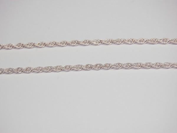 Řetízek 40cm - stříbro Řetízek kroucený