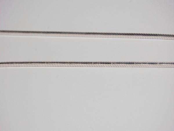 Řetízek 40cm čtyřhraný - stříbro Řetízek 40cm 10g