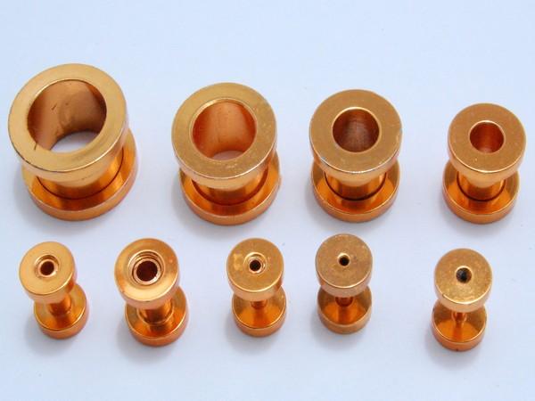 Tunel - oranžový - 1.2,až,12mm Tunel , velikost 1.2,1.6,2, 3,4,6,810,12mm