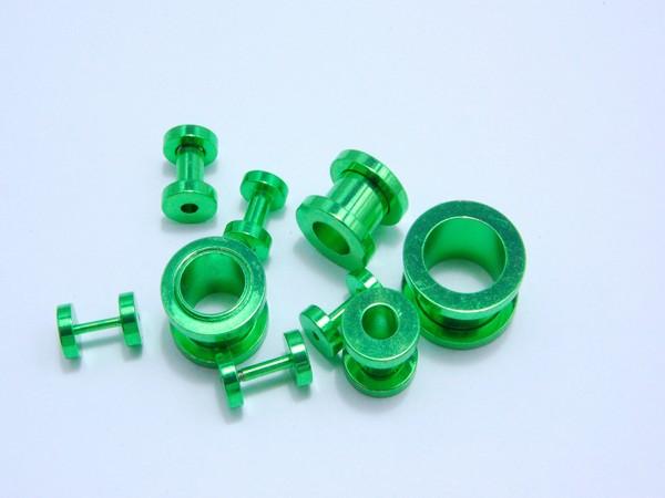 Tunel - zelený - 1.2,až 12mm Tunel , velikost 1.2,1.6,2, 3,4,6,810,12mm
